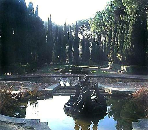 Entorno paisajístico, finca de El Castañar, palacio fuentes