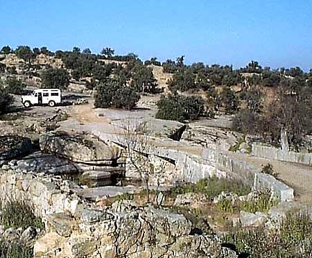 Entorno paisajístico, finca de El Castañar, vista