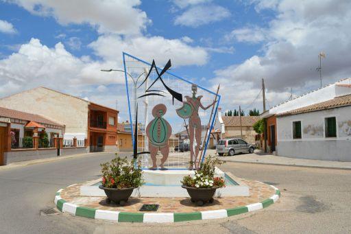 Esculturas de Don quijote y Sancho