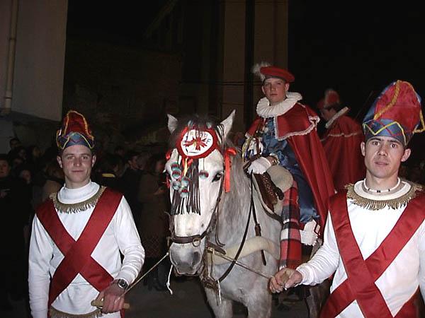 Fiesta de la Encamisada, mayordomo y lacayos