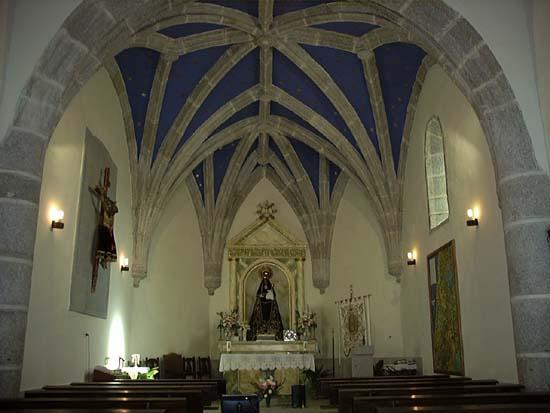 Ermita Ntra Sra de la Salud, interior