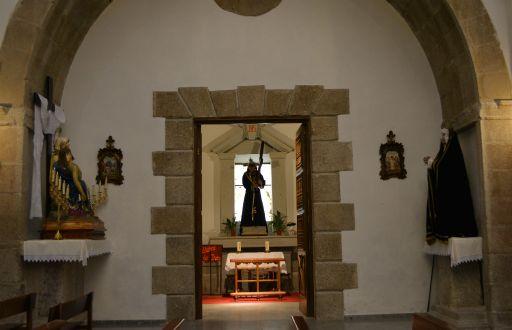 Iglesia Parroquial Ntra Sra Mª Magdalena, capilla Cristo de la Cruz Acuestas
