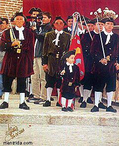 Romería de San Marcos, Sargentos y Mochilleres