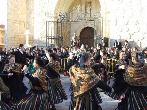 San Antón, danzas
