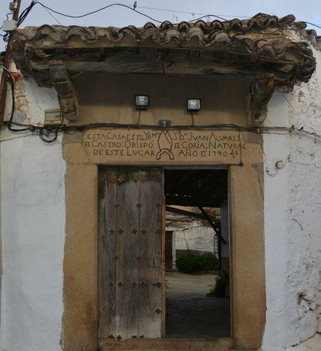 Casa del Obispo Álvarez, 1790
