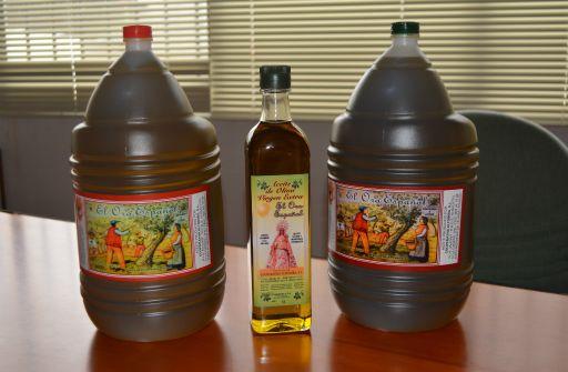 Productos de calidad, aceite de oliva virgen extra