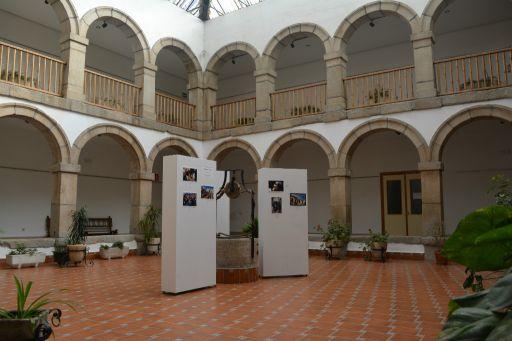 Casa Cultura, patio
