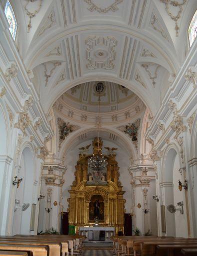Ermita del Cristo de las Aguas, interior