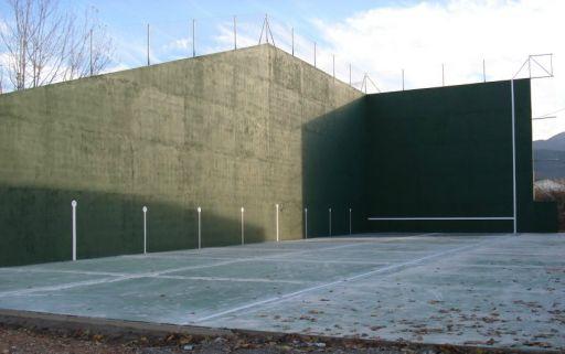 Instalaciones deportivas: frontón