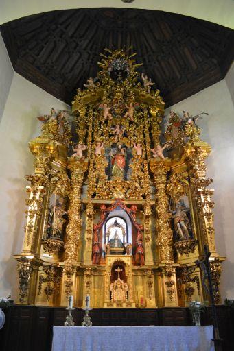 Iglesia parroquial de Nuestra Señora de la Antigua, retablo