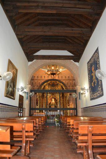 Ermita de la Santísima Virgen de las Saleras, interior
