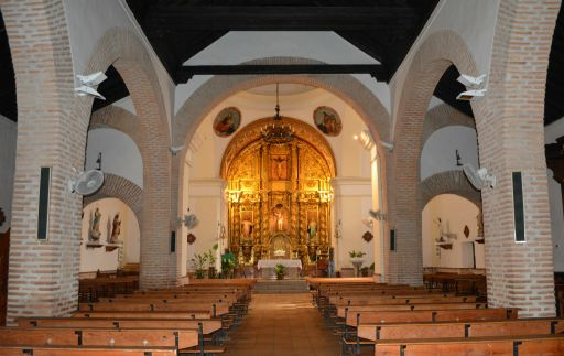 Iglesia parroquial de San Sebastián, interior