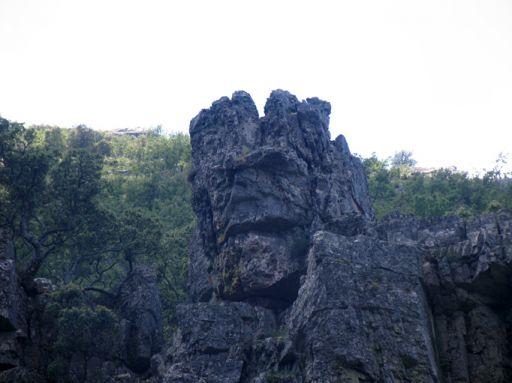 Parajes naturales, formación rocosa