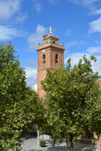 Iglesia parroquial de San Sebastián, torre