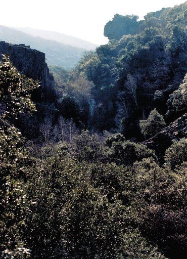 Parajes naturales, valle alto