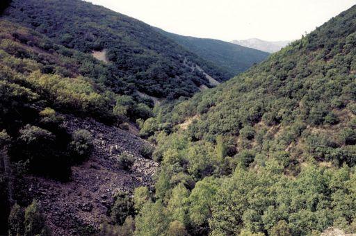 Parajes naturales, valle bajo