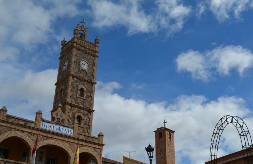 Vista de las torres del municipio