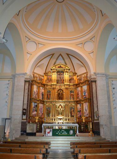 Iglesia parroquial de Santiago Apóstol, interior