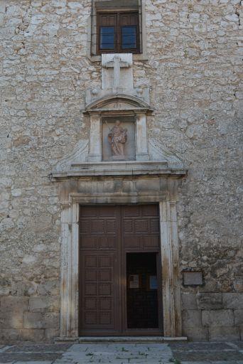 Convento de Carmelitas Descalzas de San José, exterior