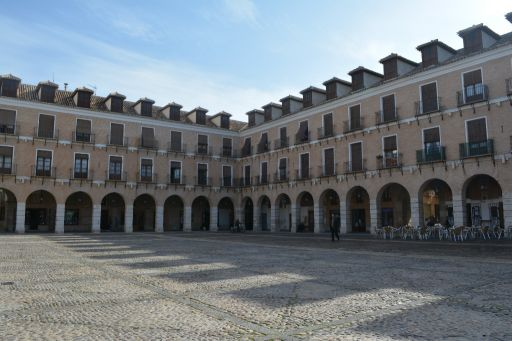 Plaza Mayor, vista a