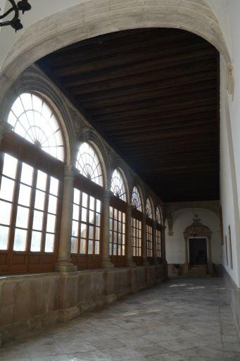 Convento de los Padres Dominicos,  soportales del claustro