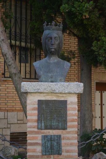 Escultura a Isabel La Católica
