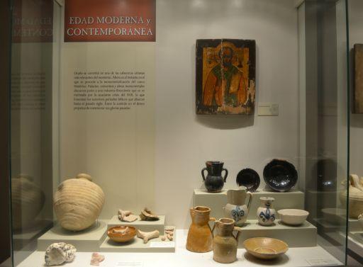 Museo Arqueológico Padre Santos, detalle (c)