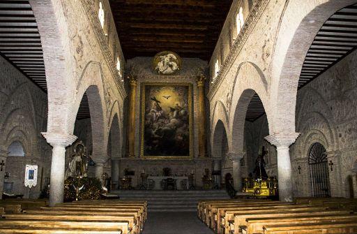 Iglesia parroquial San Pedro Apóstol, interior