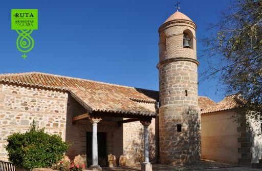 Arisgotas (anejo), Iglesia de la Virgen de Candelaria, otra vista