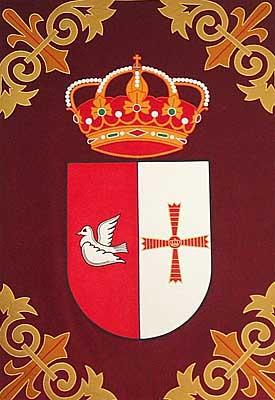 Tapiz con escudo