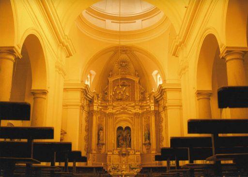 Iglesia parroquial de San Pedro y San Pablo, interior