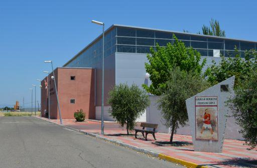 Instalaciones deportivas, pabellón Feliciano López
