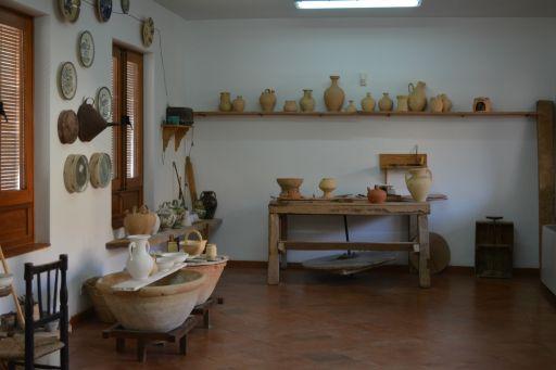 Centro de Interpretación de la Cerámica, taller del artesano (a)