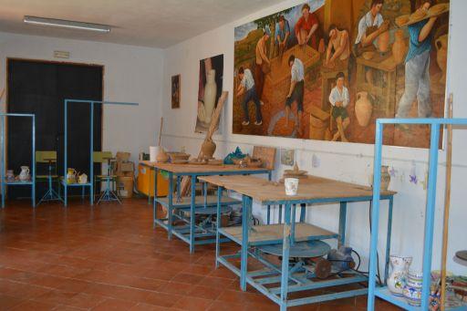 Centro de Interpretación de la Cerámica, taller para grupos