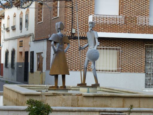 Esculturas de la Plaza de la Villa