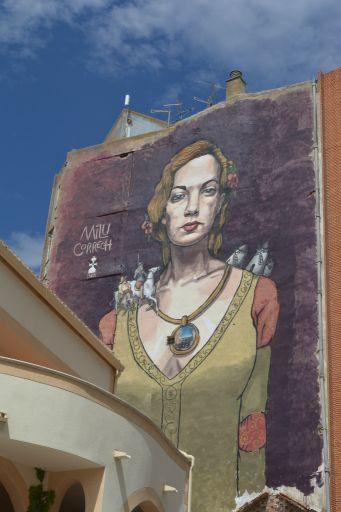 Pinturas murales, Dulcinea