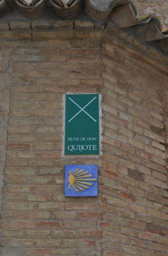 Ruta de Don Quijote y Camino de Santiago