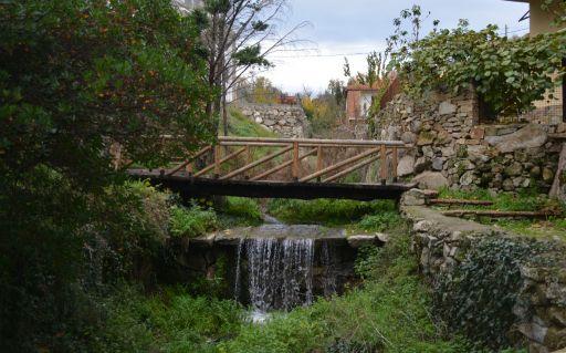Parque de El Batán, cascada