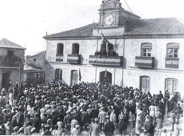 Inauguración del Pósito, 1928, del libro Un Siglo de Recas