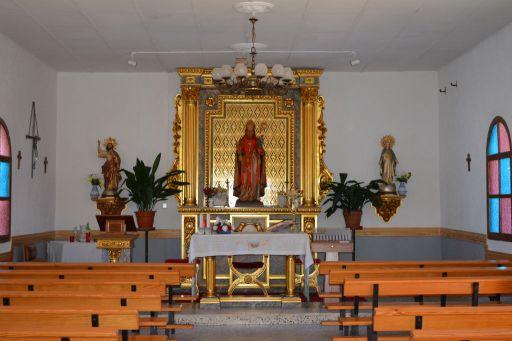Ermita de San Blas, interior