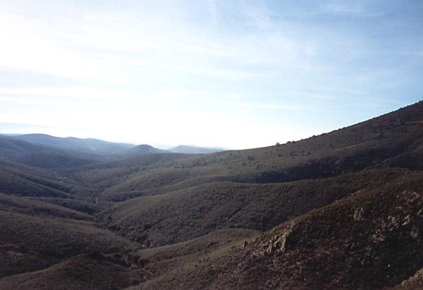 Piedraescrita, vista del Linchero