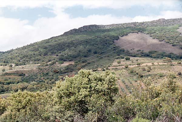 Robledillo, panorámica Risco Grande