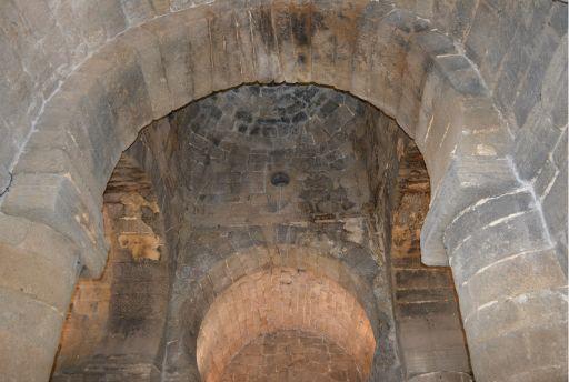 Ermita de Santa María de Melque, arcos y cúpula