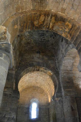 Ermita de Santa María de Melque, detalle cúpula media naranja