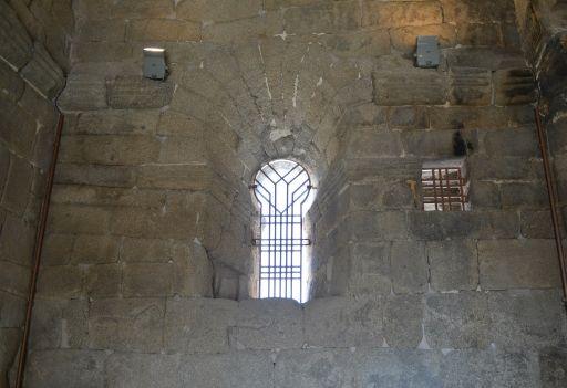 Ermita de Santa María de Melque, detalle ventana interior