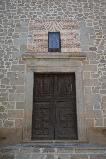 Iglesia parroquial de San Martín Obispo, puerta