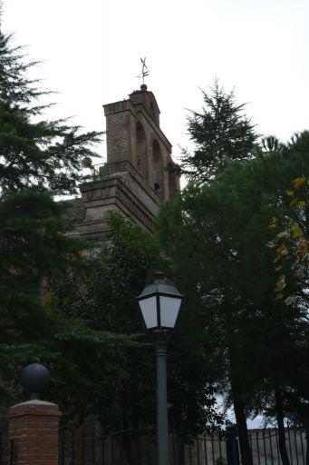 Iglesia parroquial de San Román Mártir, campanario