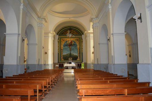 Iglesia parroquial del Triunfo de la Santa Cruz, interior