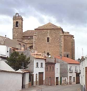 Calle Cava, al fondo la Iglesia de San Miguel