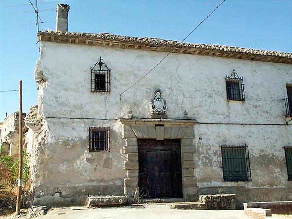 Casa blasonada en la calle Ancha